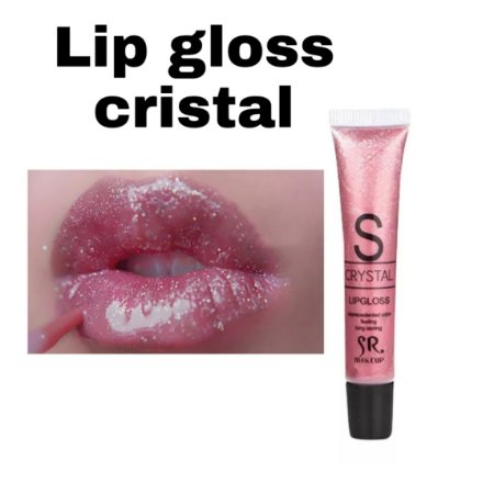 Lip gloss labial cristal