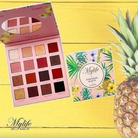 Paleta mylife pró palette 16 cores