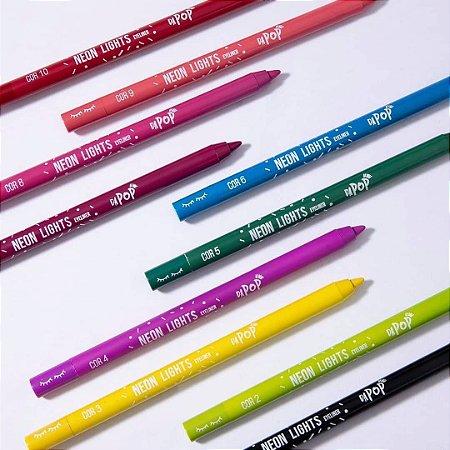 Lápis de Olho Colorido Dapop