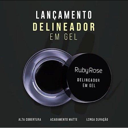 Delineador gel Ruby rose