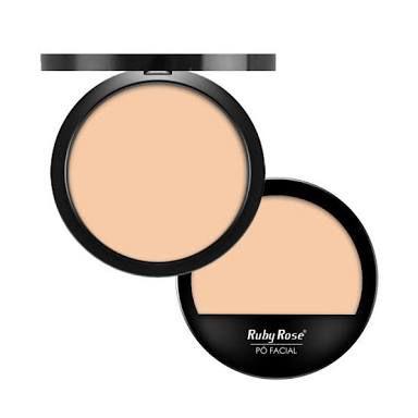 Pó compacto  Ruby Rose tons Novos
