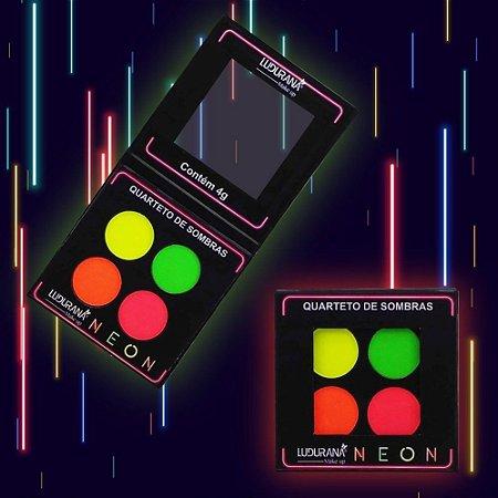Quarteto De Sombras Neon 04N - Ludurana