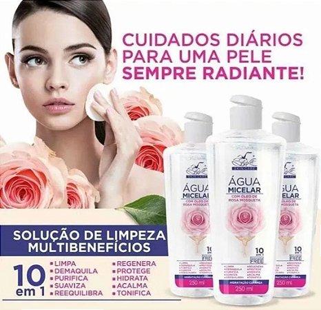 Água Micelar Com Oleo De Rosa Mosqueta