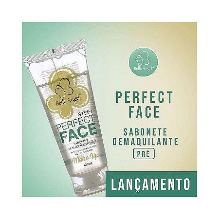 Belle Angel Sabonete Líquido Perfect Face Demaquilante Pré Maquiagem