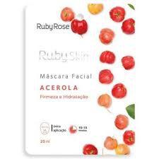 Máscara Facial De Tecido Acerola Skin - Ruby Rose