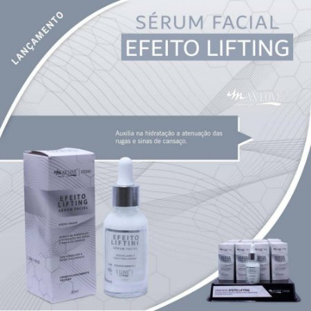 Sérum Facial Efeito Lifting Max Love