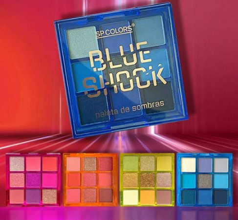 Paleta Sp colors Shock Escolha seu Tom