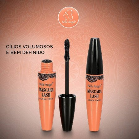 Mascara para Cílios  Lash - belle angel Alonga e define