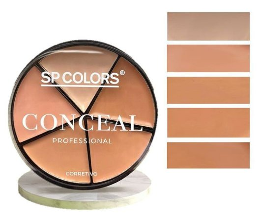 Estojo de Corretivo Conceal 5 tons SP COLOR SP132