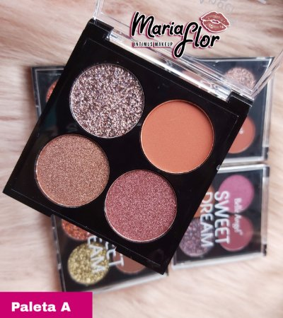BELLE ANGEL PALETA DE SOMBRAS GLITTER SWEET DREAM  (A)