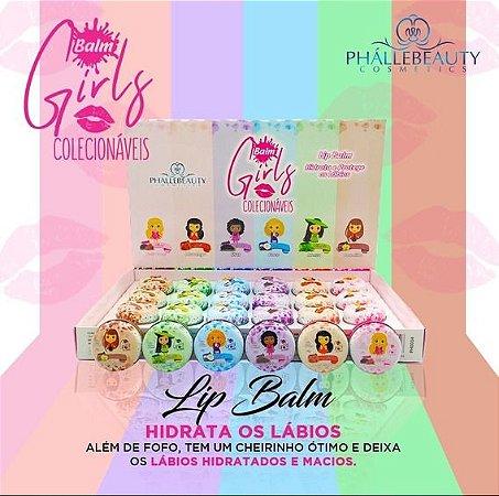 Lip Balm Girls Colecionáveis PhalleBeauty