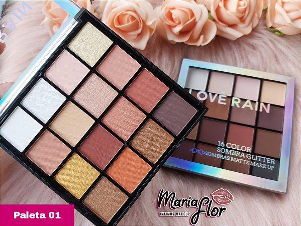 Paleta Love Rain 16 color
