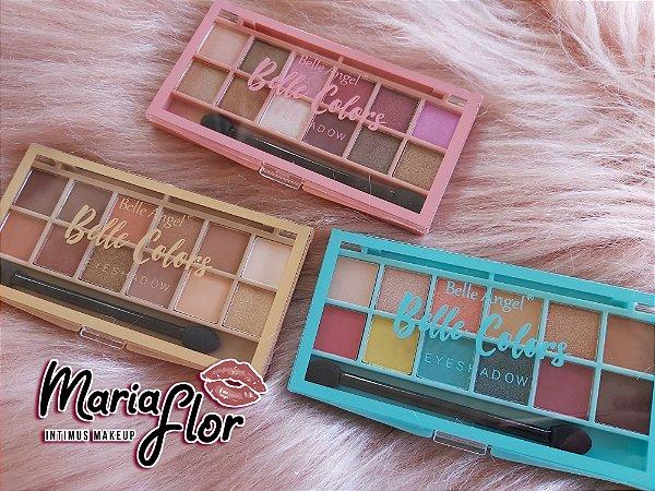 Paleta de Sombras 12 Cores Colors Belle Angel