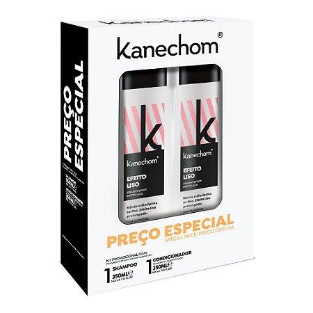 Shampoo + Condicionador Kanechom Efeito Liso 350ml cada Preço Especial