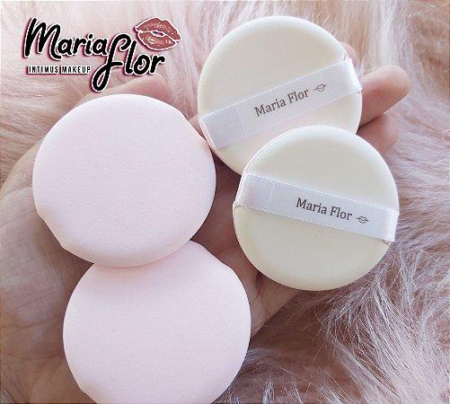 Esponja para aplicação de pó- Maria Flor