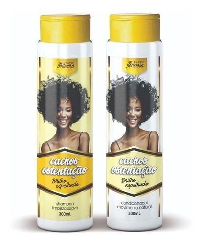 1 Kit Probelle Cachos Ostentação Shampoo + Condicionador