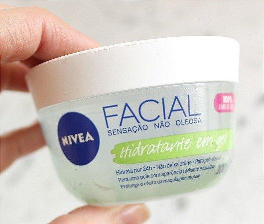Hidratante Facial Em Gel Nivea Fresh Com Ácido Hialurônico e Pepino 100g