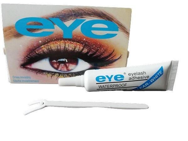 Cola de Cílios Postiços Eye Adhesive a Prova Dagua Transparente