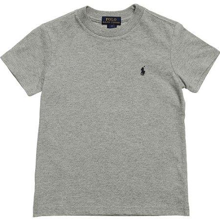 Camiseta Polo Ralph Lauren Cinza - Roupas de bebê e criança ... 35b11315f7b