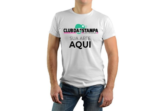 Camisetas Unissex Personalizadas - Club da Estampa - Estampas em ... 34db1985d01af