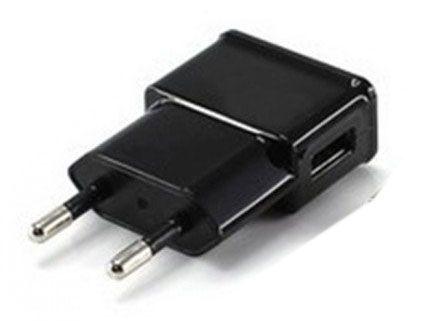 Carregador para celular preto