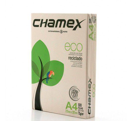 Papel A4 reciclado - 20 folhas