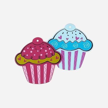 Kit Porta Panela Cupcake