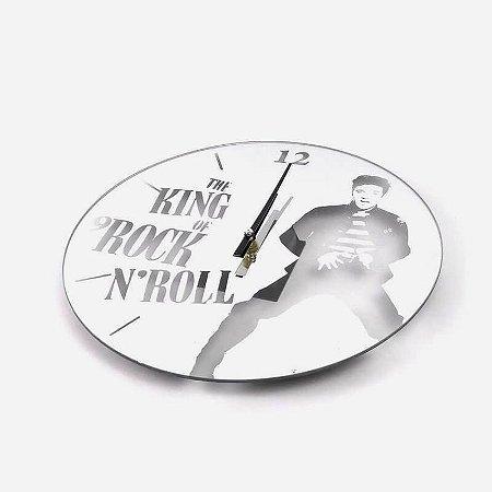 Relógio de Parede Rei do Rock