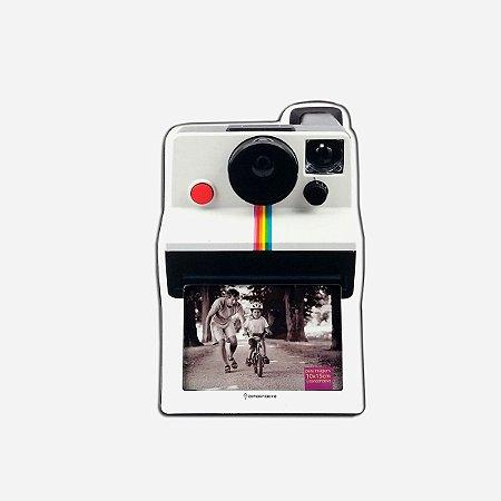 Porta Retrato Câmera Polaroide Retro