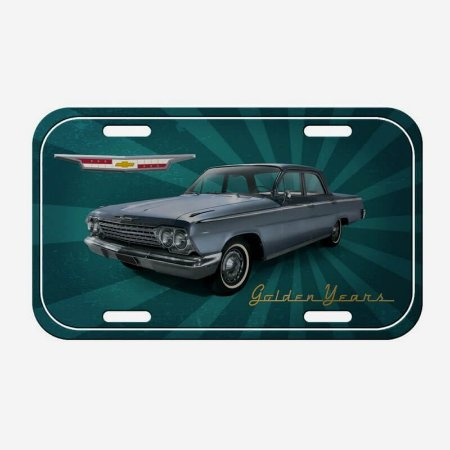 Placa Decorativa de Metal Impala Golden Years