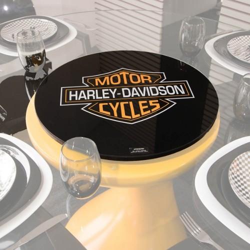 Centro de Mesa Giratório Harley Davidson