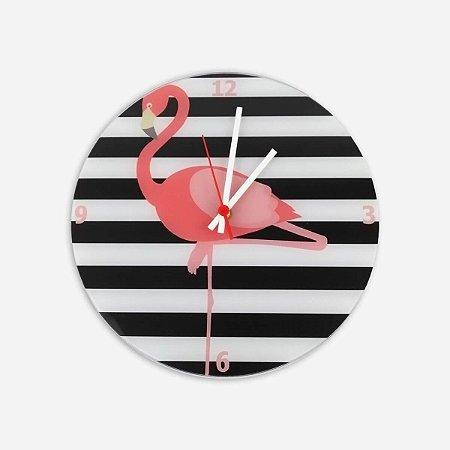 Relógio de Parede Flamingo