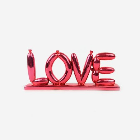 Objeto Decorativo Baloon Love