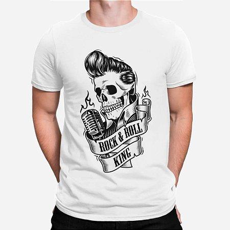 Camiseta Masculina Rei do Rock