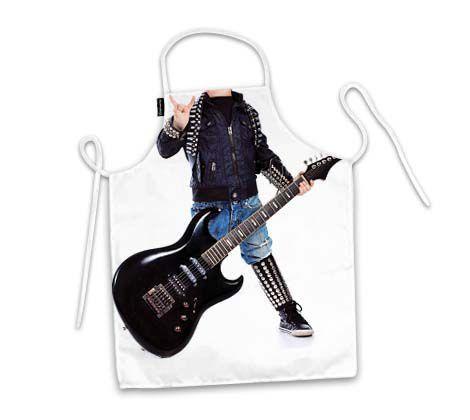 Avental Infantil Rock Star