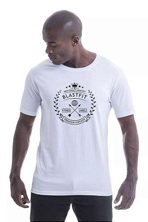 Camiseta Blast Fit - Branca - Dajo Empório 46c06879282