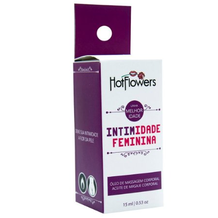 Intimidade Feminina 15ml Hot Flowers