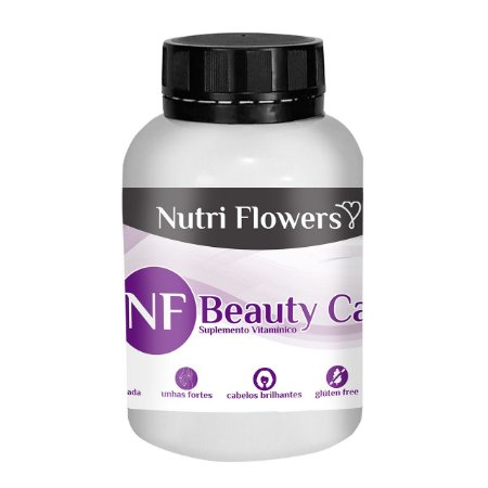 NF Beauty Care - 60 Capsulas Hot Flowers