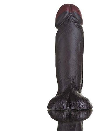 Prótese Hot Black Realístico 15,5x5CM