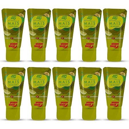 Kit Gel Comestível Scurrega Mais Caipirinha 15g - Emb. c/10 und, Pepper Blend