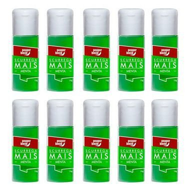 Kit Gel Comestível Scurrega Mais Menta 15g - Emb. c/10 und. Pepper Blend