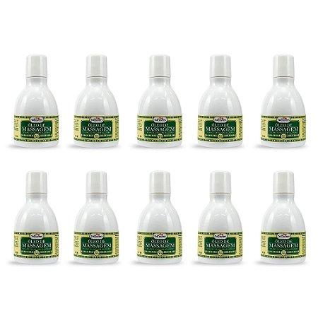 Óleo para Massagem Ylang Ylang com Algodão 40g- Kit c/10 Und Hot Flowers