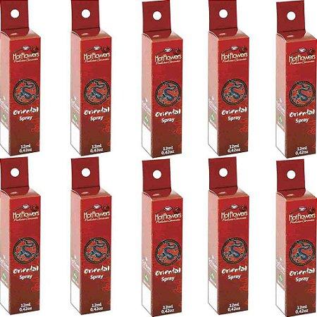 Oriental Spray 12ml - Kit c/10 Und Hot Flowers