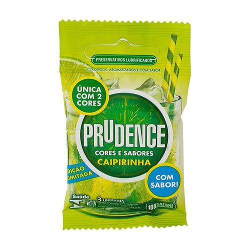 Preservativo Prudence - Caipirinha