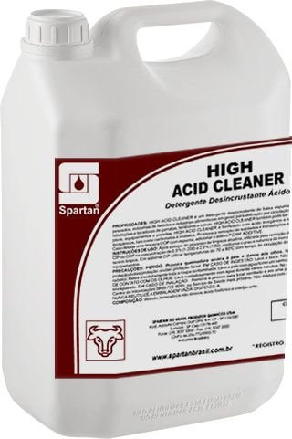 High Acid Cleaner: Detergente Desincrustante Ácido
