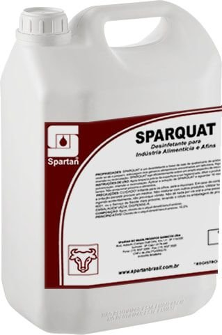 Sparquat: Desinfetante Para Indústria Alimentícia e Afins