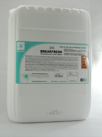 Breakfresh:Detergente Aditivo Alcalino Para Lavar Roupas