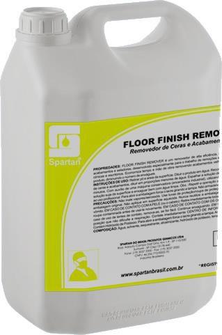 Floor Finish Remover: Removedor de Acabamentos, Ceras e Seladores