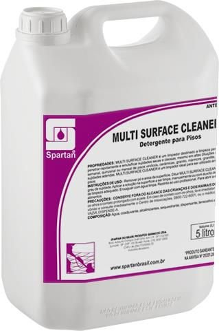Multi Surface Cleaner: Limpador Alcalino Concentrado Para Pisos