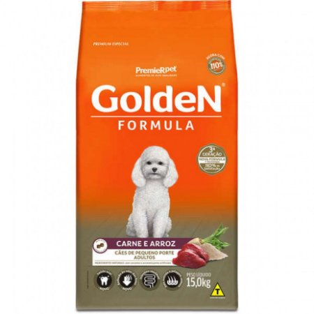 GOLDEN ADULTO CARNE MINI BITS 15KG